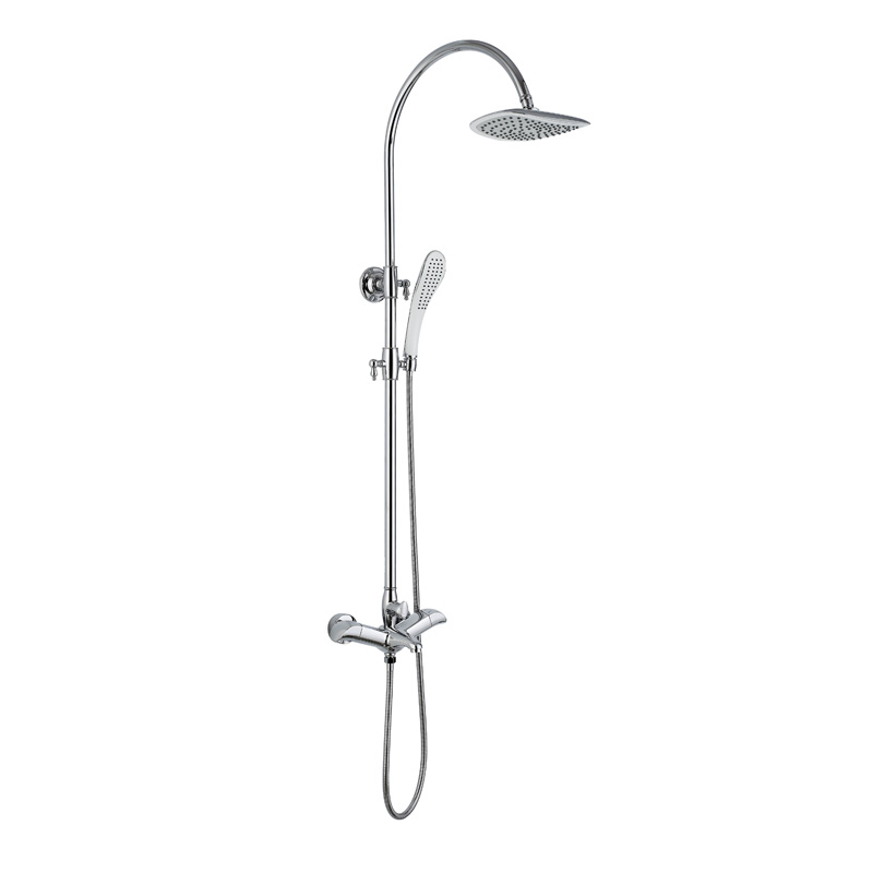 Hot sale fashion design thermostatic shower set ATS483
