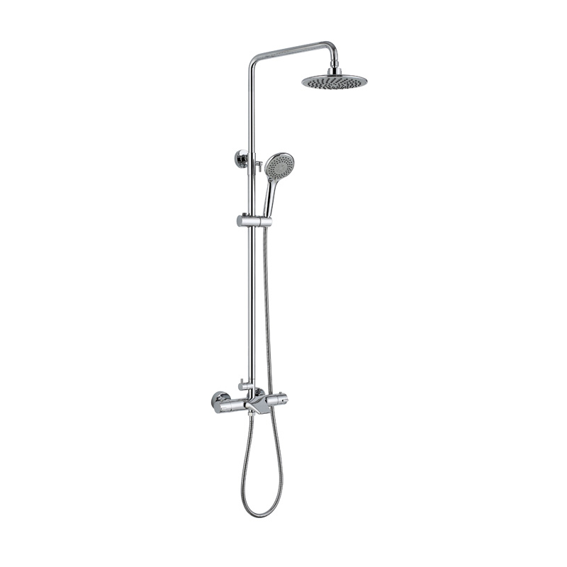 Hot sale fashion design thermostatic shower set ATS493