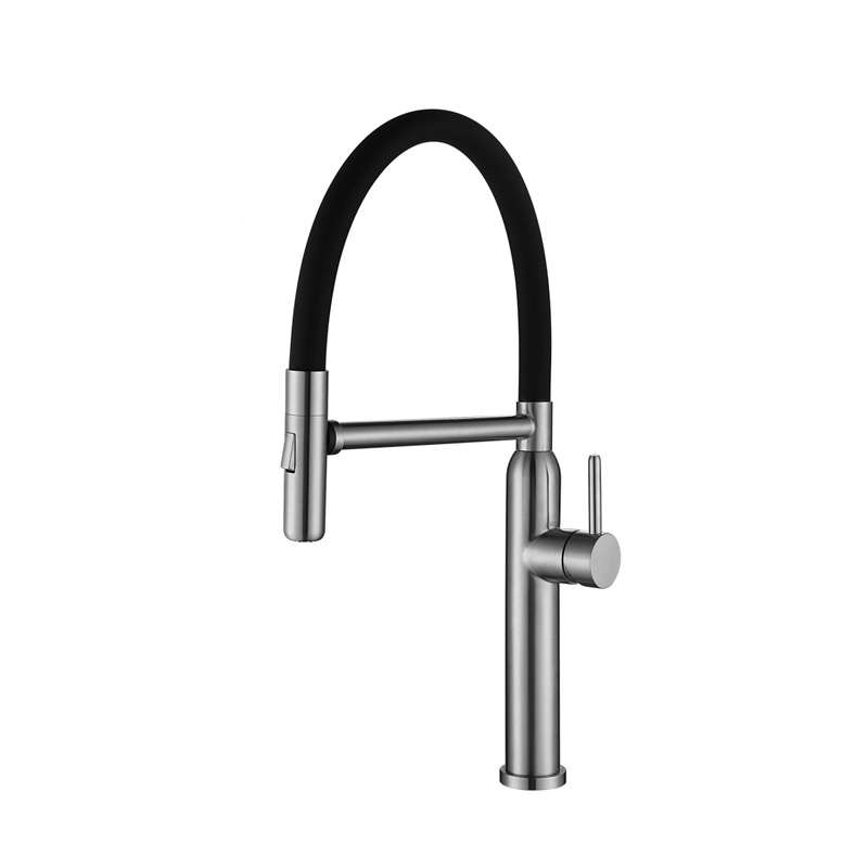 High quality SS304 spring kitchen mixer tap SK241